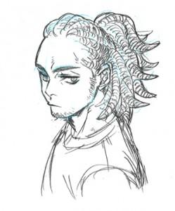 ⑩髪型_男性_個性的