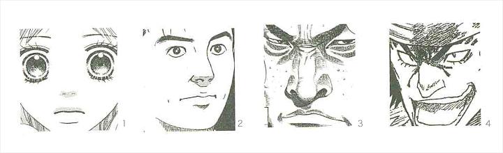 色々な鼻の形